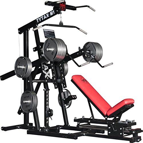 Tytax® M1ultime Home Multi Gym machine de fitness Meilleur gratuit Poids Pro Banc de séance d'entraînement d'exercice