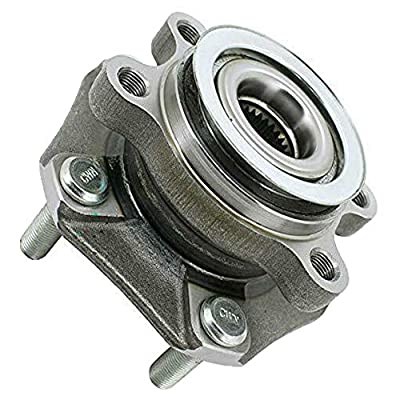 MotorbyMotor Front Wheel Bearing Hub Assembly Fit 2015 2016 2020 2020 Chevrolet City Express, 2013-2020 Nissan Leaf NV200 Sentra Hub Bearing w/5 Lugs, Replace 513364: Automotive