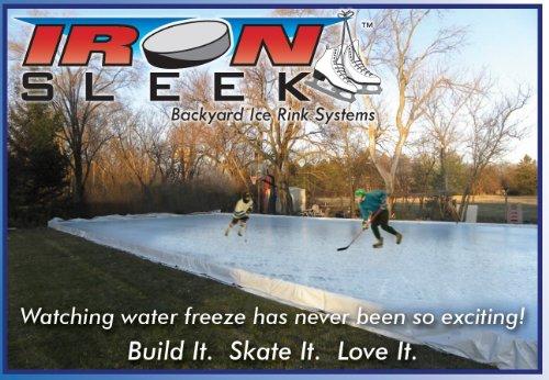 Iron Sleek Skating Rink Kit Size: 40' x 90'