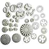 KurtzyTM 75 Piece Cookie Cutter Cake Decorating Plunger Cutters Icing Decorating Set