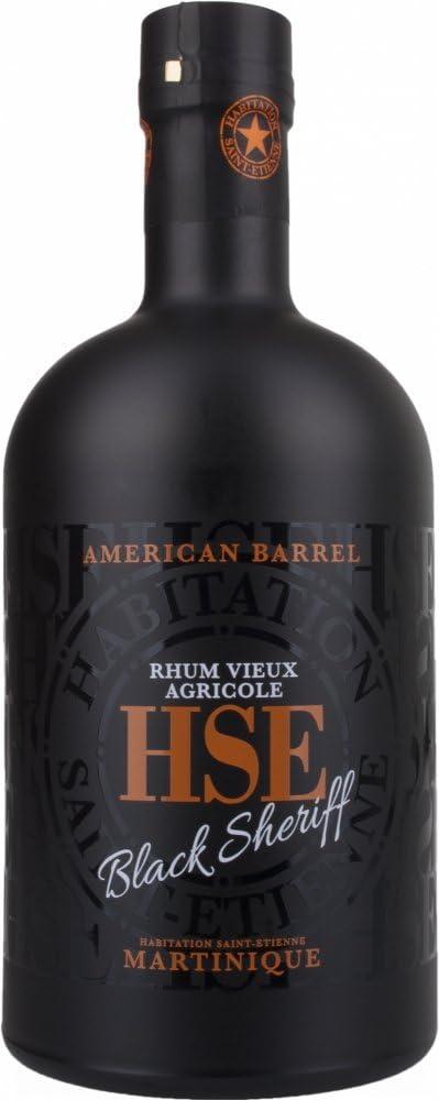 Ron Hse Vieux American Barrel Black Sheriff 40% 70 Cl ...