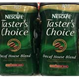 Nescafe Taster's Choice Decaf Instant Coffee - 10 oz jar(Pack of 2)