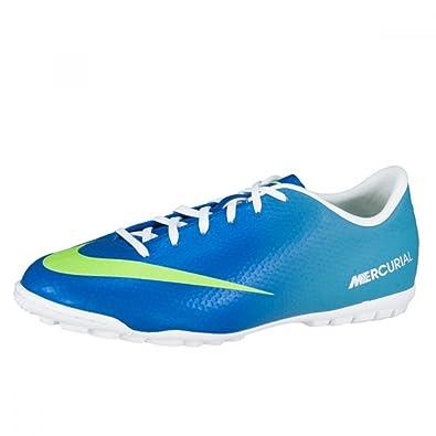 13803e3be1422 Nike Kids Unisex Jr Mercurial Victory Turf (1.5Y) Sky-Blue