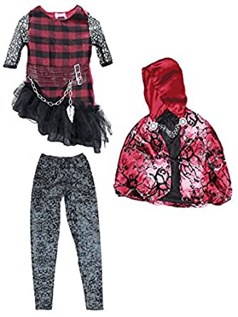 Girls Ever After High Cerise Hood Costume [610570] (8-10)