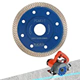 Peakit Dry Wet Tile Cutter Blade 4 Inch Porcelain Diamond Saw Blade Ceramic Cutting Disc for Angle Grinder or Tile Saw