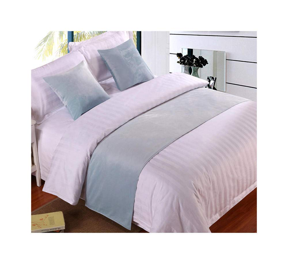 Bed Runner Scarf Modern Solid Color Velveteen Smooth Bedding Protection Decoration for Bedroom Hotel Homestay Pink 45x45cm//17.7X17.7inches 1 Pillowcase no Pillow