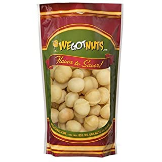 We Got nuts Raw Macadamia Nuts Unsalted - One (1) Lb. Bag - Freshly Sealed, Kosher