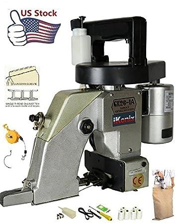 Amazon.com: Portable Bag Closer bocinas de Máquina de coser ...