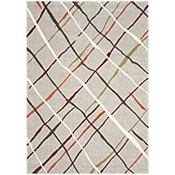 Safavieh Porcello Collection PRL4816A Grey and Multi Area Rug (2\'7\