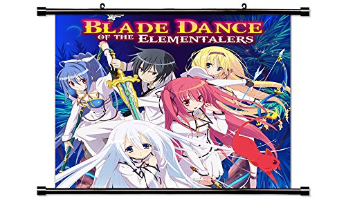 Bladedance of Elementalers (Seirei Tsukai no Blade Dance) Anime Wall Scroll Poster (32x32) ()