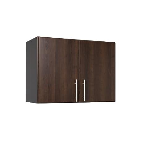 Prepac Espresso Elite Stackable Wall Cabinet, 32u0026quot;, ...