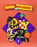 Houghton Mifflin Spelling and Vocabulary: Student Book (consumable) Grade 6 2004