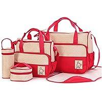Sac à Langer confort bébé maman Set 5 pièces grande capacité - 3 style et multi couleurs en option
