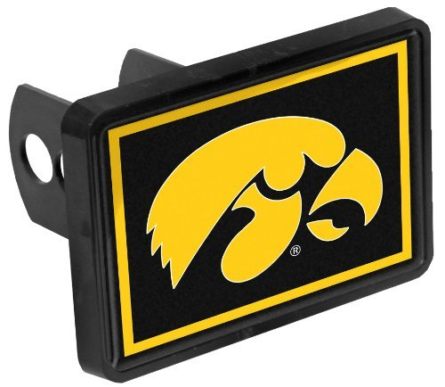 Iowa Hawkeyes Trailer Hitch (Iowa Hawkeyes Hitch Cover Fits 1-1/4 or 2 Inch Auto Car Truck Receiver Plastic