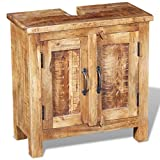 Festnight Bathroom Vanity Set Reclaimed Wood