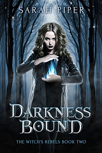 Darkness Bound: A Reverse Harem Paranormal Romance (The Witch's Rebels Book 2) cover