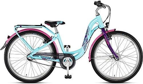 Bicicleta para niños Puky Skyride 24-3 aluminio turquesa/lila 2016 ...