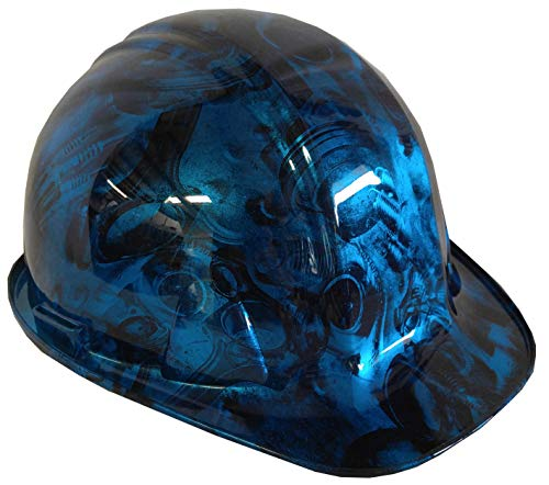 Hard Hat SL Series Cap Style Costom Light Blue Kandy Turbos and Pistons
