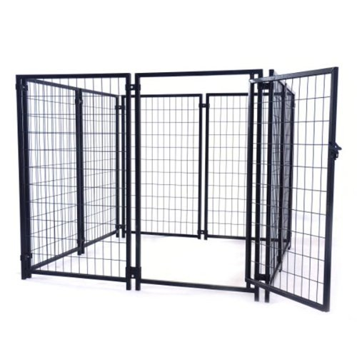 ALEKO 5ftx5ftx4ft Dog Kennel Heavy Duty Pet Playpen Dog Exercise Pen Cat Fence Run for Chicken Coop Hens House by ALEKO