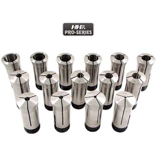 HHIP 3900-1170 5C Pro Quality Premium Round Collet Set, 15-piece by HHIP