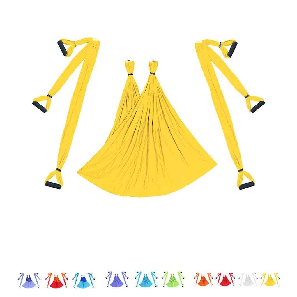 Ben-gi Aerial Yoga Swing Flying Hamaca Conjunto antigravedad 6 empu/ñadura Silla Colgante de Fitness Kit Pilates oscilaci/ón de la Correa