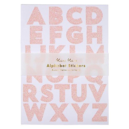 (Meri Meri Glitter Alphabet Stickers)