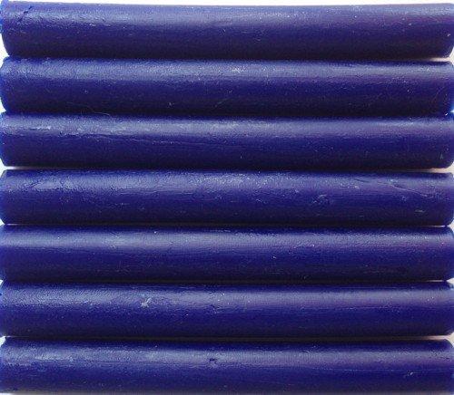 Sapphire Blue Flexible Glue Gun Sealing Wax - 7 Sticks Flexible Gun