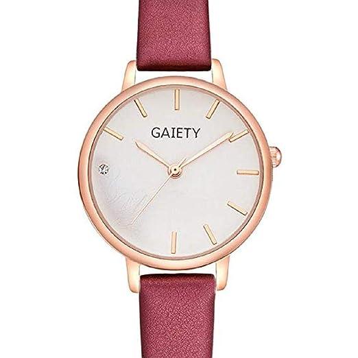 Scpink Relojes de Cuarzo para Mujer, Venta análoga a la Venta Relojes de Pulsera para