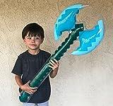 """megasumer 8 Pack - Inflatable 37"""" Jumbo Mine Pixel"""