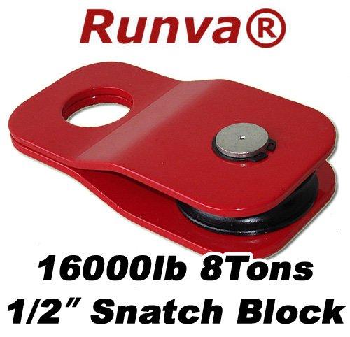Runva 8 Ton 1/2' Snatch Block Towing 4x4