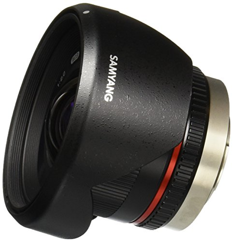 Samyang SY12M-MFT-BK 12mm F2.0 Ultra Wide Angle Fixed Lens for Olympus/Panasonic Micro 4/3 Cameras, Black