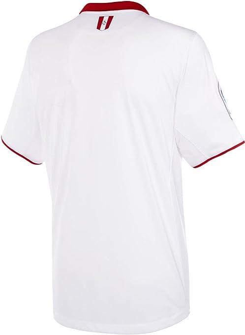 2016 2017 Sevilla FC Vicente Iborra Daniel Carrico Nicolas Pareja Home  Football Soccer Jersey In White  Amazon.co.uk  Sports   Outdoors b96587f3d4b81