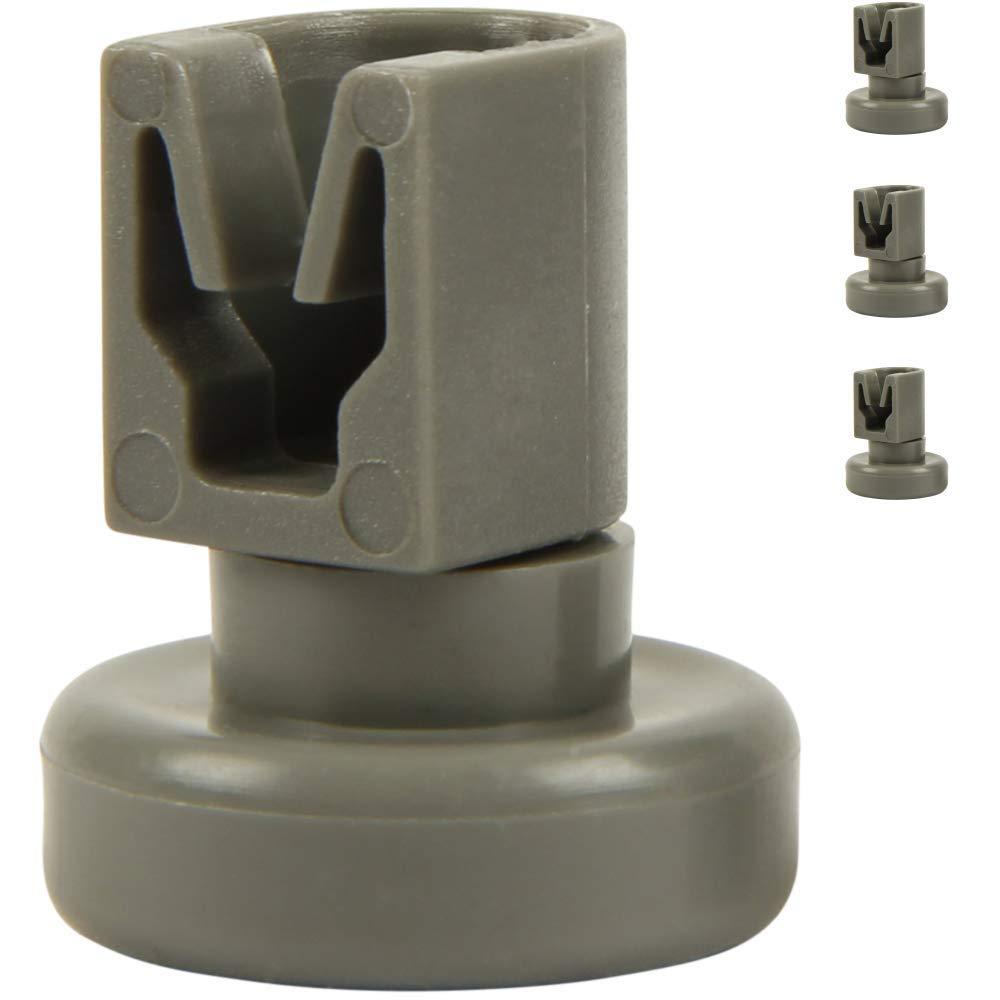 TOOGOO Dishwasher Upper Rolls Content: 4 pieces Suitable For Aeg Favorit, Privileg, Zanussi, Uvm