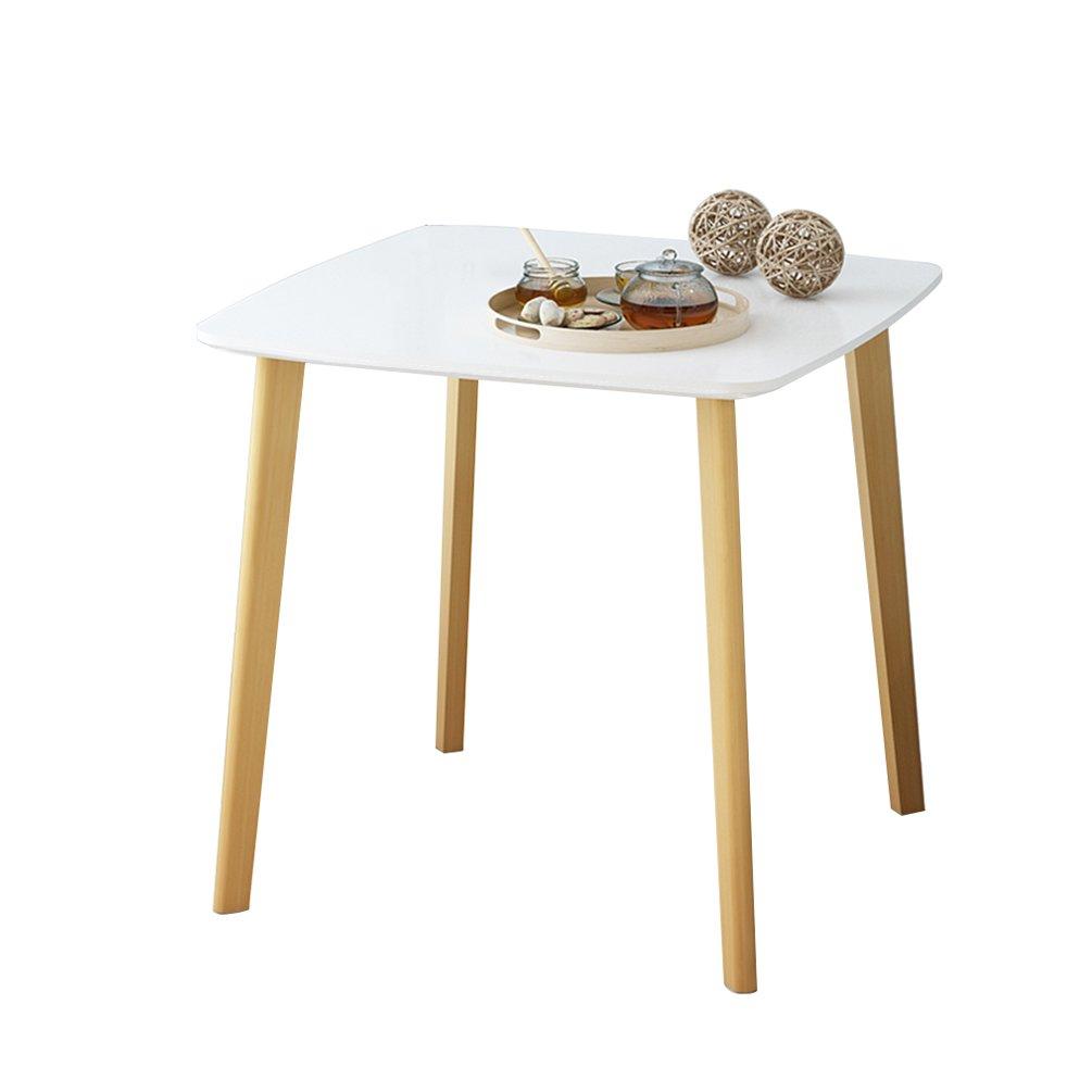 CSQ ソリッドウッドの小さなコーヒーテーブル、創造的なリビングルームのコーナーいくつかのソファのテーブルいくつかの側面ベッドサイドテーブルの装飾レジャーテーブルの読書テーブル (色 : #1, サイズ さいず : 80*80*74CM) B07DZMCNTQ 80*80*74CM #1 #1 80*80*74CM