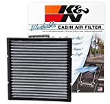 prius cabin air filter 2004 - K&N VF2002 Washable & Reusable Cabin Air Filter Cleans and Freshens Incoming Air for your Subaru, Toyota, Mitsubishi