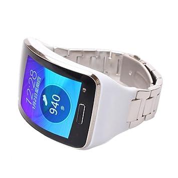 Reloj banda, happytop acero inoxidable reloj pulsera correa ...