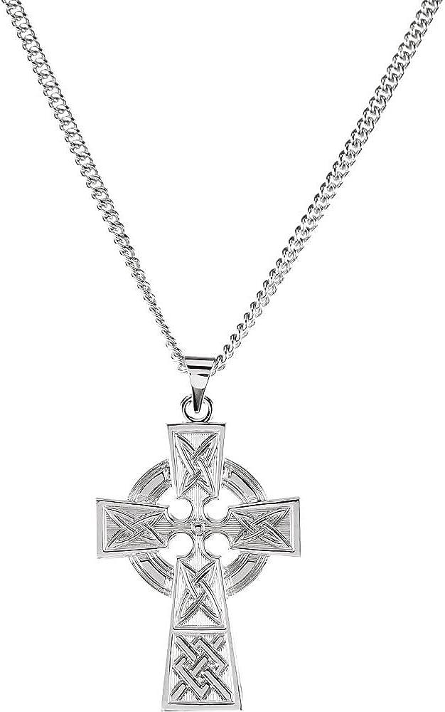 DiamondJewelryNY Celtic Cross Pendant