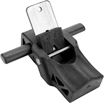Black Small Wood Planer Trimming and Flat Mini Woodworking Carpenter Hand Planer with Handle -108/×40/×26mm Woodworking Planer Hand Tool