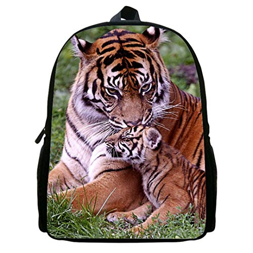 3D Print Men's Bag Backpack 12ib4009 Fashion Animal Polyester w4TwqZg