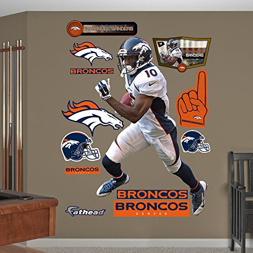 NFL Denver Broncos Emmanuel Sanders Big Wall Decal by Fathead Peel and Stick Decals
