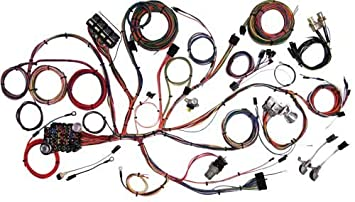 american autowire 510055 wiring harness for ford mustang 68 Mustang Dash
