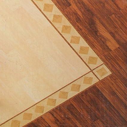 128m X Westco Adhesive Vinyl Plank Flooring Border Tiles Diamond