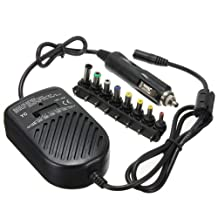DC 80W Auto Charger Power Laptop Adapter.