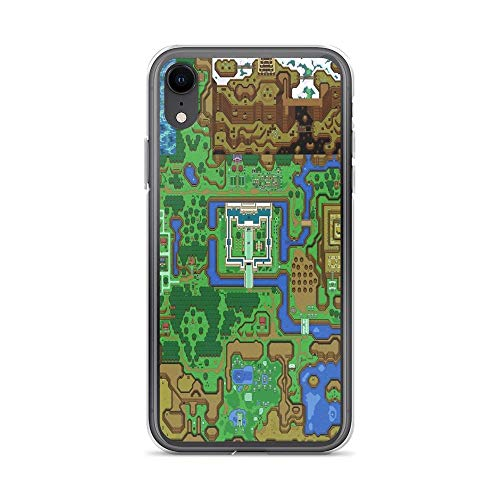 iPhone XR Case Clear Anti-Scratch The Legend of Zelda: A Link to The Past Map Cover Phone Cases for iPhone XR, Crystal Clear