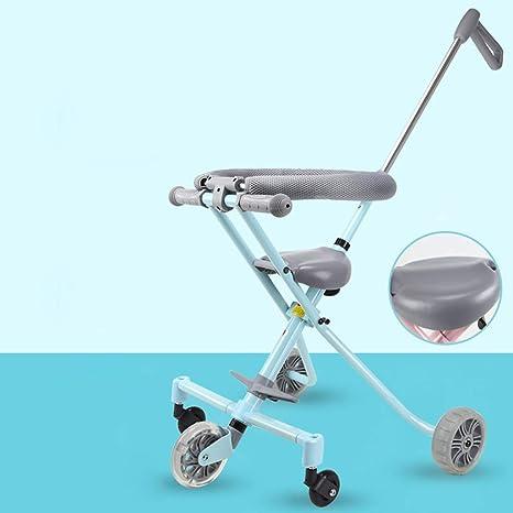 HSDDA Carro de bebé Ligero Cochecito de bebé Trend Expedition Travel Marco de aleación de Aluminio