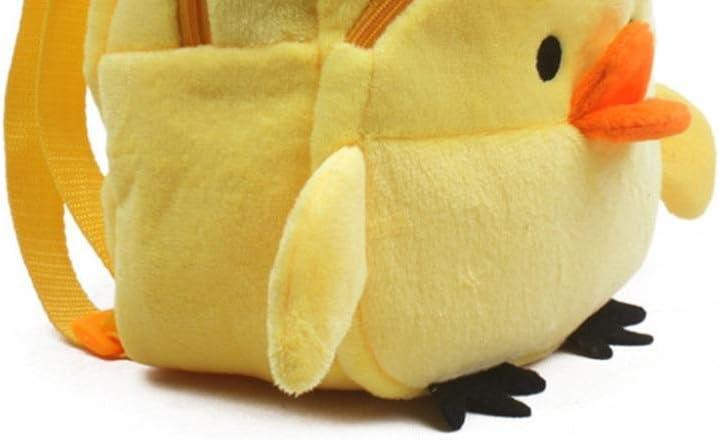 Yellow Chicken Malbaba Villus Unisex Cartoon Animal Baby Children Plush Cute Bag Backpack Shoulder Bag