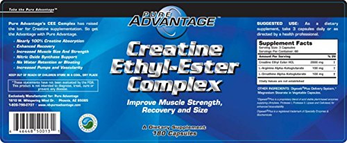 Pure Advantage Creatine Ethyl-Ester Complex