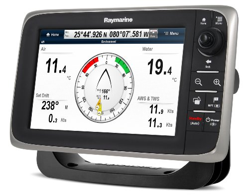 Raymarine c97 9-Inch Multi-Function Display/Fishfinder with Lighthouse US Coastal Charts
