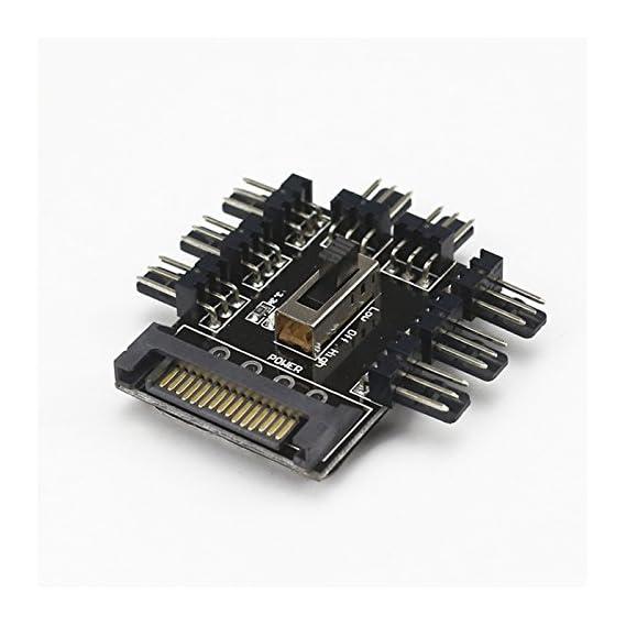 Anself Mini PCI-E to SATA3 Expansion Card 2 Ports SATA III Express Controller Card