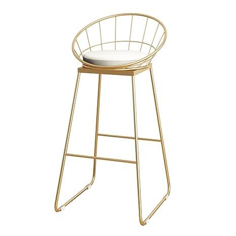 Astounding Amazon Com Gold Kitchen Counter Bar Chairs High Stools Inzonedesignstudio Interior Chair Design Inzonedesignstudiocom